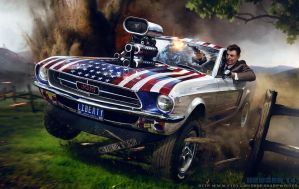Ronald Reagan The Liberator by SharpWriter