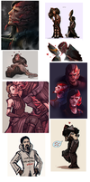More Dragon Age Junk by moni158
