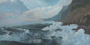 Along The Pacific Coast by carolthompson