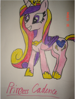 My drawing of me by x-Princess-Cadence-x