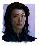 Ming-Na Wen Speedpaint by daPatches