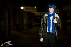 MetroCon 2012 - Vocaloid | WWII Kaito by elysiagriffin
