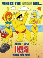 homer beach Duff by mc06x