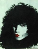 Paul Stanley KISS by CorvidAngel