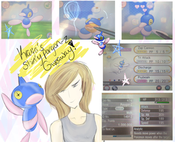 Shiny robot duck giveaway. [OPEN] by Krayas-Pokemon