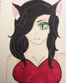 Oc number 3, Kitty  by Ramengirl2004