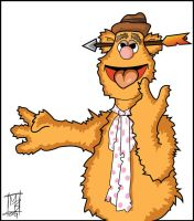The Muppets Fozzy Bear by Bleezer