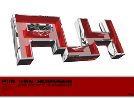 PVH logo by reaped