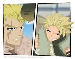 Laxus - Sting - Fairy tail - Sabertooth by NikaTail