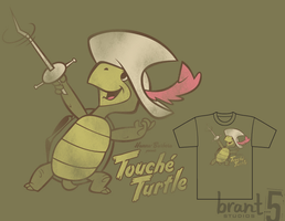 Touche Turtle by brant5studios