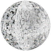stone sphere by Lajos-Toth
