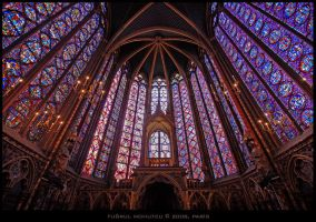 La Sainte Chapelle by tugrulnohutcu