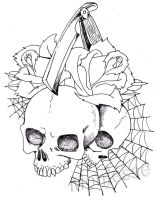 skull and roses 2 by monjesse