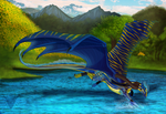 Blue by Galidor-Dragon