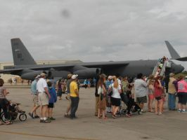 MCAS Airshow 2015 Pics- B-52 Stratofortress by DRYeisleyCreations
