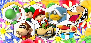 SSB4 Yoshi Series Roster by The-Koopa-of-Troopa
