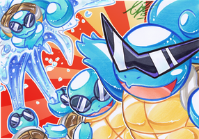 COM: Squirtle Squad by carnival