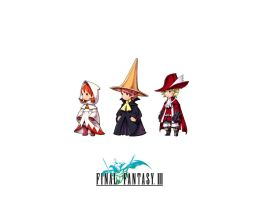 Final Fantasy III: The Mages by superman682
