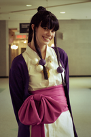Maya Fey cosplay 1 by Mytis