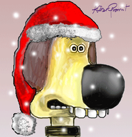"""Ho Ho Ho"" for Bitzer... by altergromit"