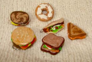 miniature lunch beads by KRSdeviations