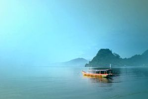 Alone At Karang Tirta by apipro