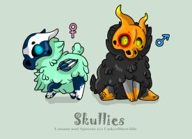Skullies - 15 Points by ladyofthewilds