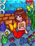 Mario: Mermaid daisy by PrincessaaDaisy12