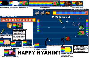 HAPPY NYANIN' WITH THESE NYAN SECRETS! by alanseniour24
