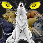 Wolf's Rain Group Pic thing.. by Zayger
