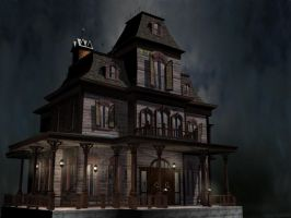 Haunted Manor Revisited by Sae-Matsumoto