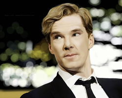 Benedict Cumberbatch by Evil---Angel