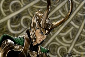 Loki (Thor) (in color) by VeronikaDark