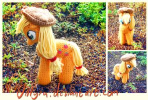 Crochet Applejack by onlyRa