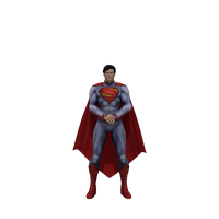 Injustice Superman (New 52) transparent by dirtscan