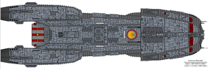 Basileus class Fleet Carrier by Barricade