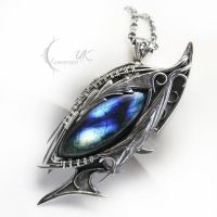 RUQTULL DRACOH ( dragon's eye ) by LUNARIEEN