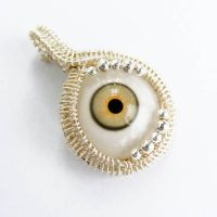 EYE AM WATCHING Wire Pendant 2 by Create-A-Pendant