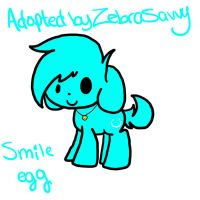 .:Egg adopt : Smile egg:. by SugahCookie