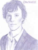 Benedict Cumberbatch by smarticles101