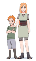 Yahiko and his mother by Rarity-Princess