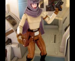 Star Wars Custom Female Figure Rystal Sant Dancer by jvcustoms