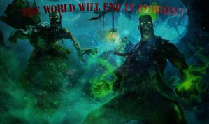 League of Legends! The World end in Zombies!! by Deoillidan
