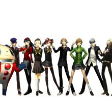 Persona 4 by diodood