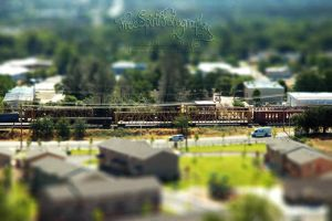 Other Side of the Tracks by FreeSpiritFotography