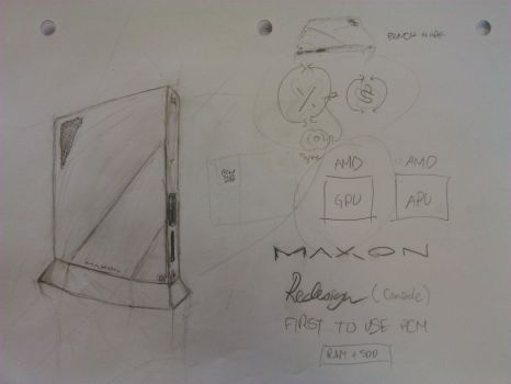 Maxon - Revised Console Concept by three3world