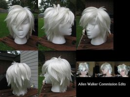 Allen Walker Wig Commission by xHee-Heex