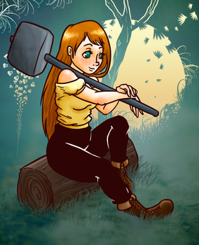 Hammer two by MineHeart