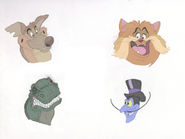 Fave Bluth Characters by theblazinggecko