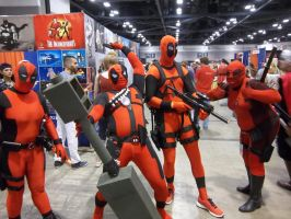A Flock of Deadpool by The-1One